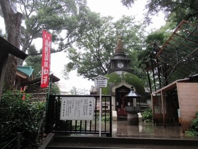 上野大仏境内