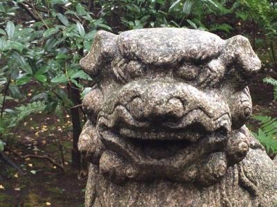 根津美術館・狛犬