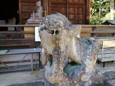 海住山寺・狛犬