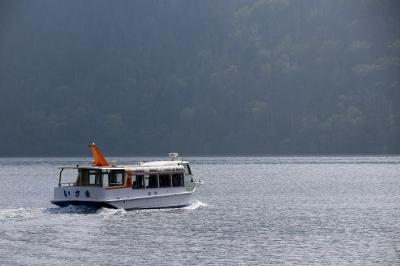 然別湖の遊覧船