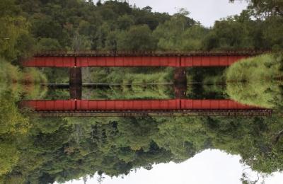 別寒牛川・逆鉄橋