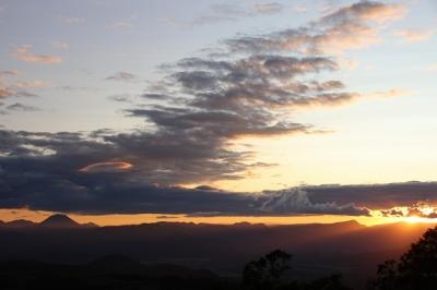 摩周湖第一展望台から見た夕景