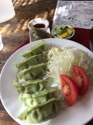 熊笹餃子定食