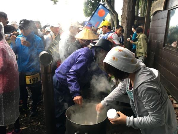 2017-11-04 きのこ汁サービス