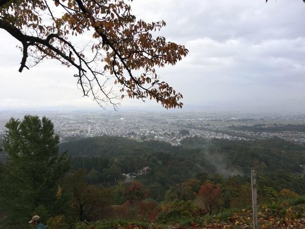 2017-11-04 春日山山頂からの眺め