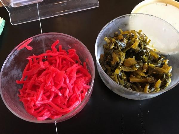 2017-11-03 高菜とショウガ
