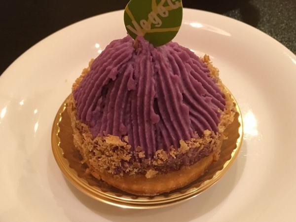2017-11-09 紫芋モンブランタルト