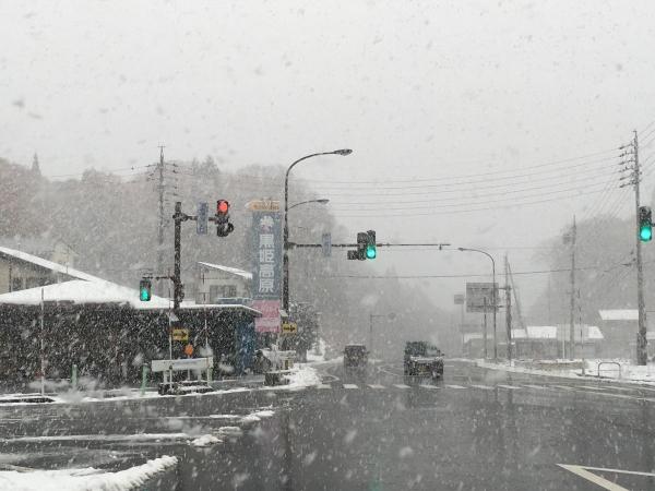 2017-11-19 信濃町の雪