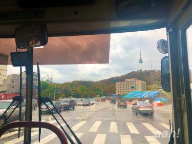 バスで南へ。