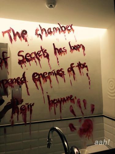 トイレにて。