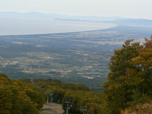 9_山頂から津軽平野