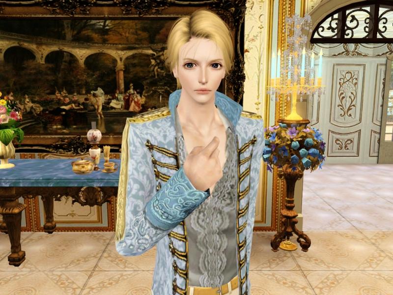 フランス王子様風シム