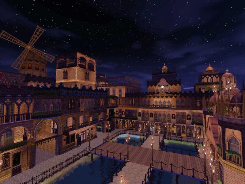 ストーリー『The Crowns』に使用予定の中世な港街&酒場