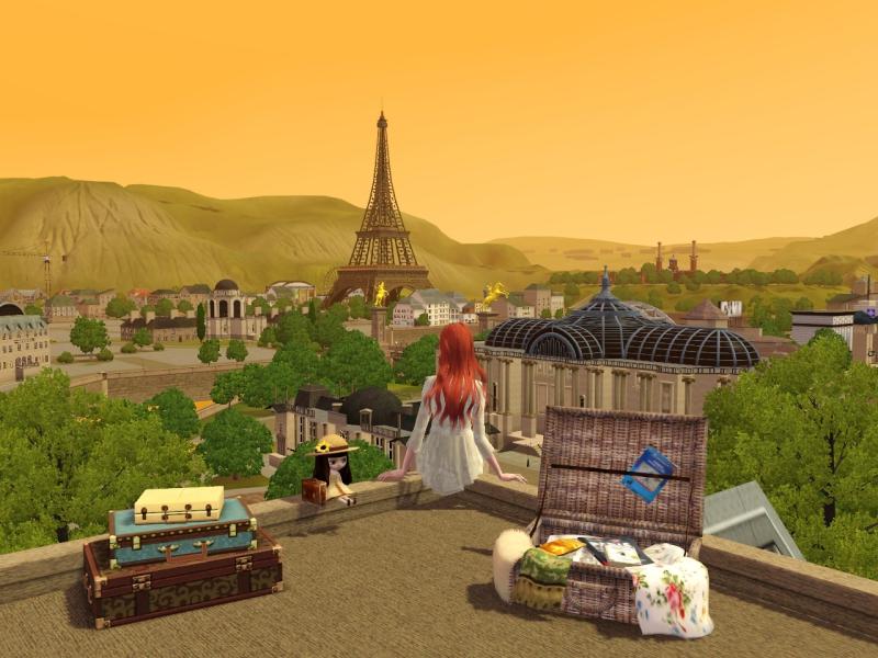 クラリー in Paris 「シャドウハンター」