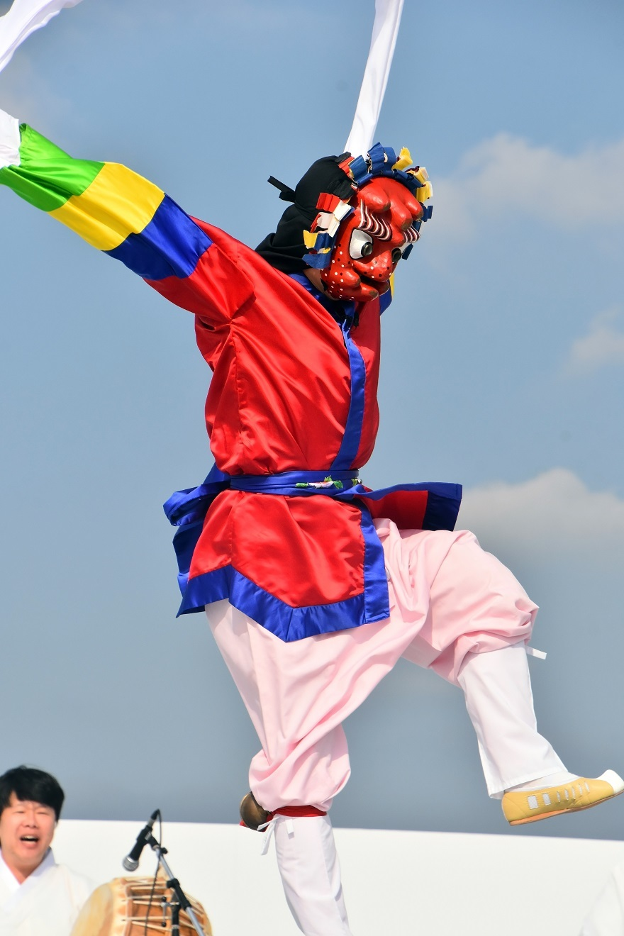みつきうまし・韓国舞踊 (5)