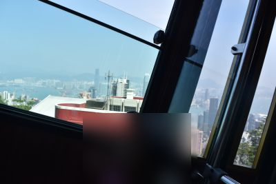 ピークトラム車窓の風景