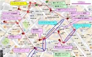 ランカイフォン(蘭桂坊)=Lan Kwai Fong周辺のベスト観光ルート