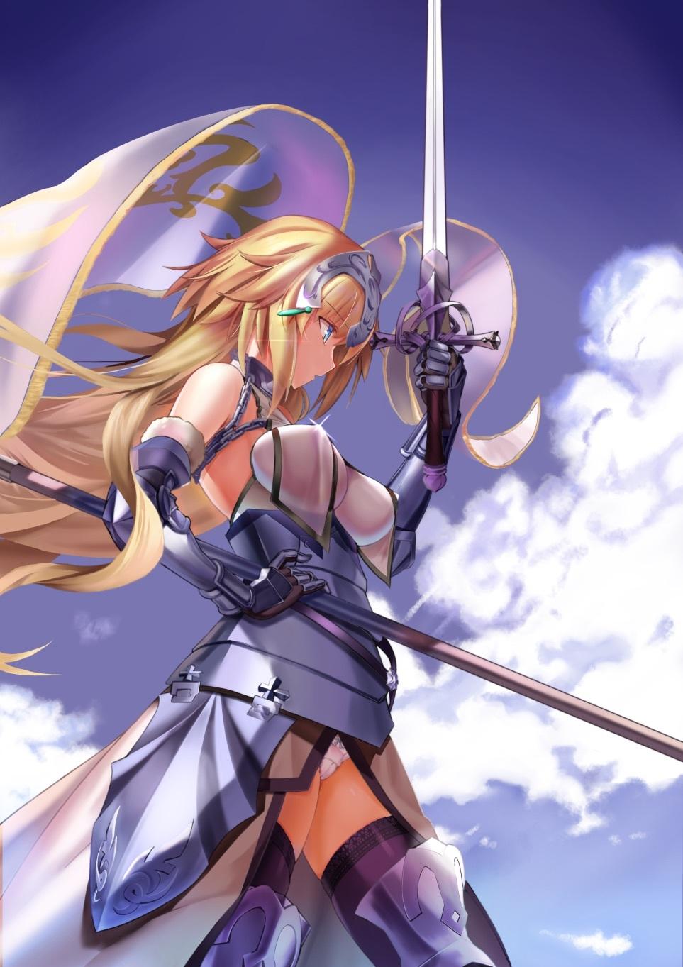 Fate Grandorder ジャンヌ ダルク Joan Of Arc No 4005 厳選アニメ