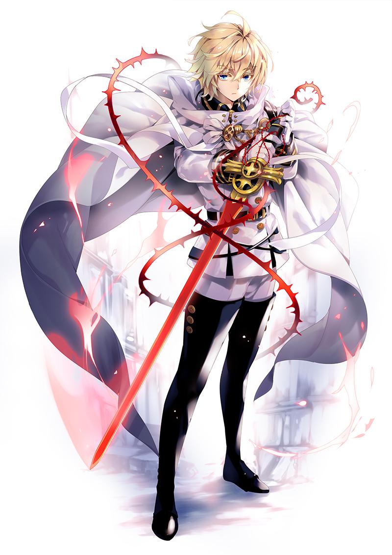 終わりのセラフ 百夜ミカエラ Seraph Of The End Hyakuya Mikaela No