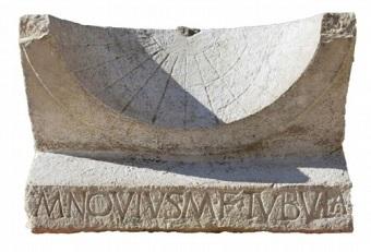 古代ローマの日時計