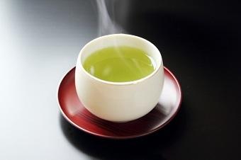 糖化には緑茶