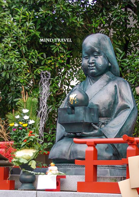 千本釈迦堂 阿亀像