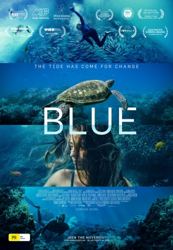 Blue the film - poster
