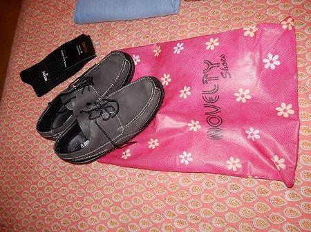 半額セールで靴買いました。