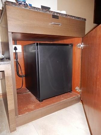 完全格納された冷蔵庫