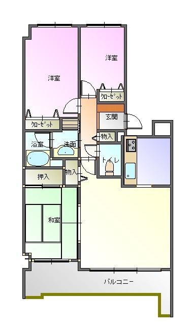 コスモ小川町 713号室