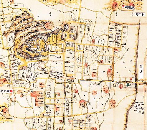 浜松古地図颯々松