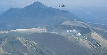 霧島火山群新燃岳