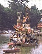 津島神社朝船一隻