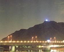 岐阜城ライトアップ