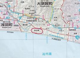 遠州沖之洲村地図