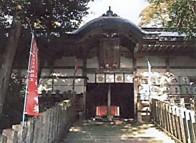 敢國神社拝殿