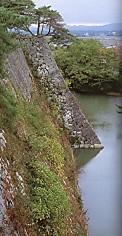 伊賀上野城高石垣