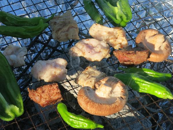 炭焼き 野菜やお肉