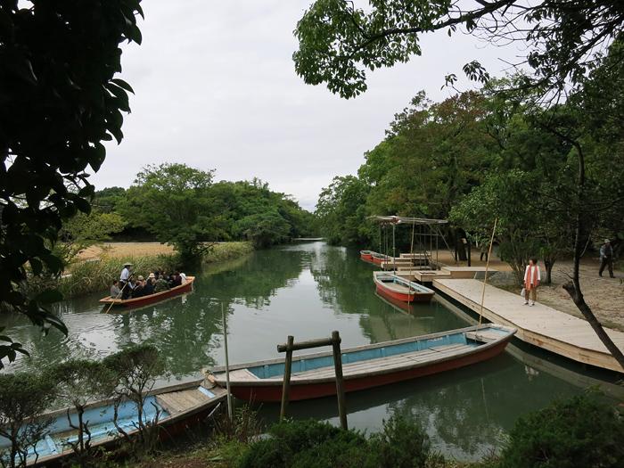 柳川 水路 船着き場と川下り 日本の道百選