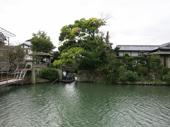 柳川城塞水門
