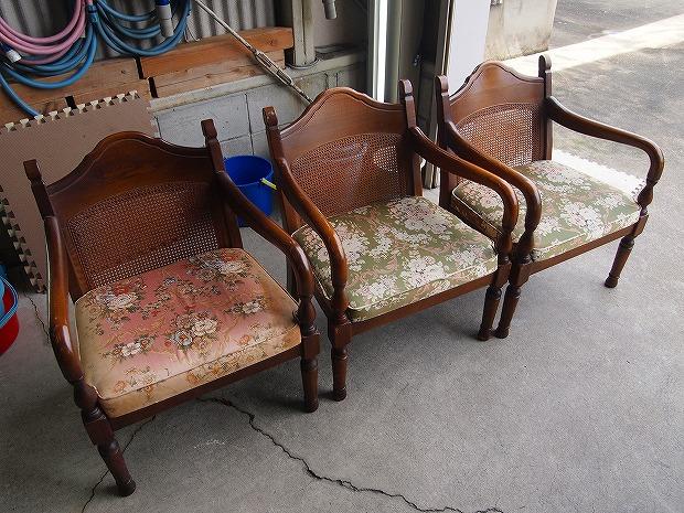 椅子クリーニング