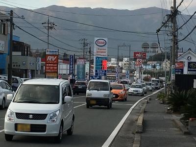 レギュラーガソリン138円/L 西近江路沿い大津市真野のセルフGSで(17/11/15)