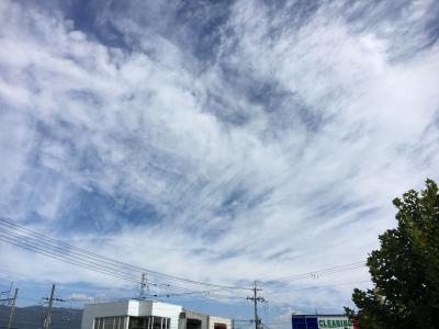 巻雲(9月30日9時頃)