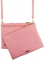 coral DUO CROSS BODY BAG