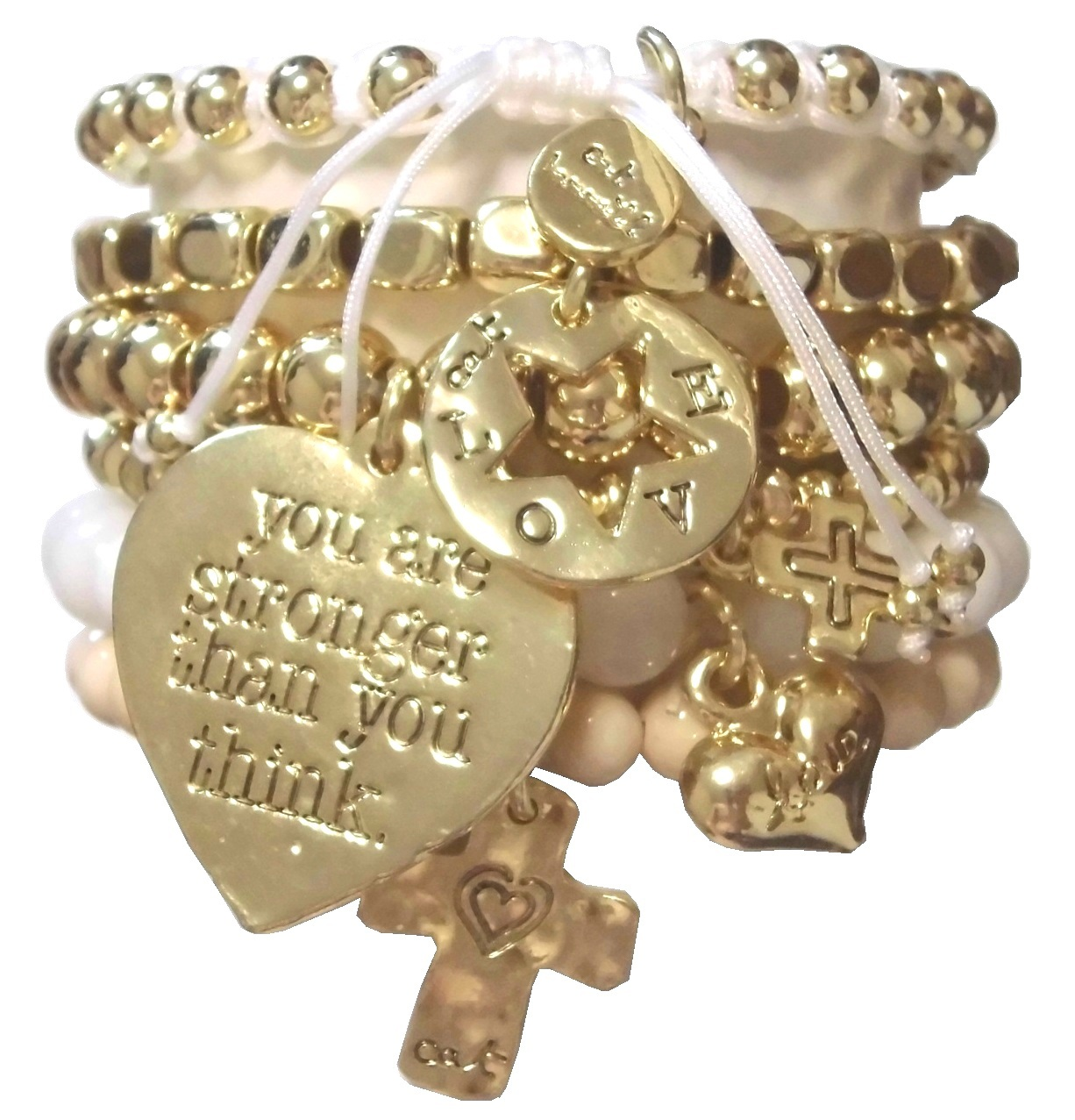 heart bracelet set (1)