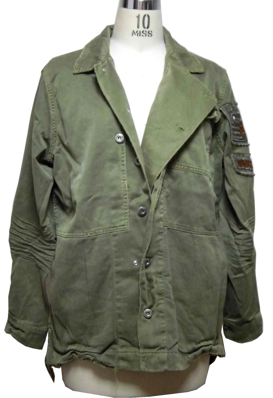 Jacket military olive (2)