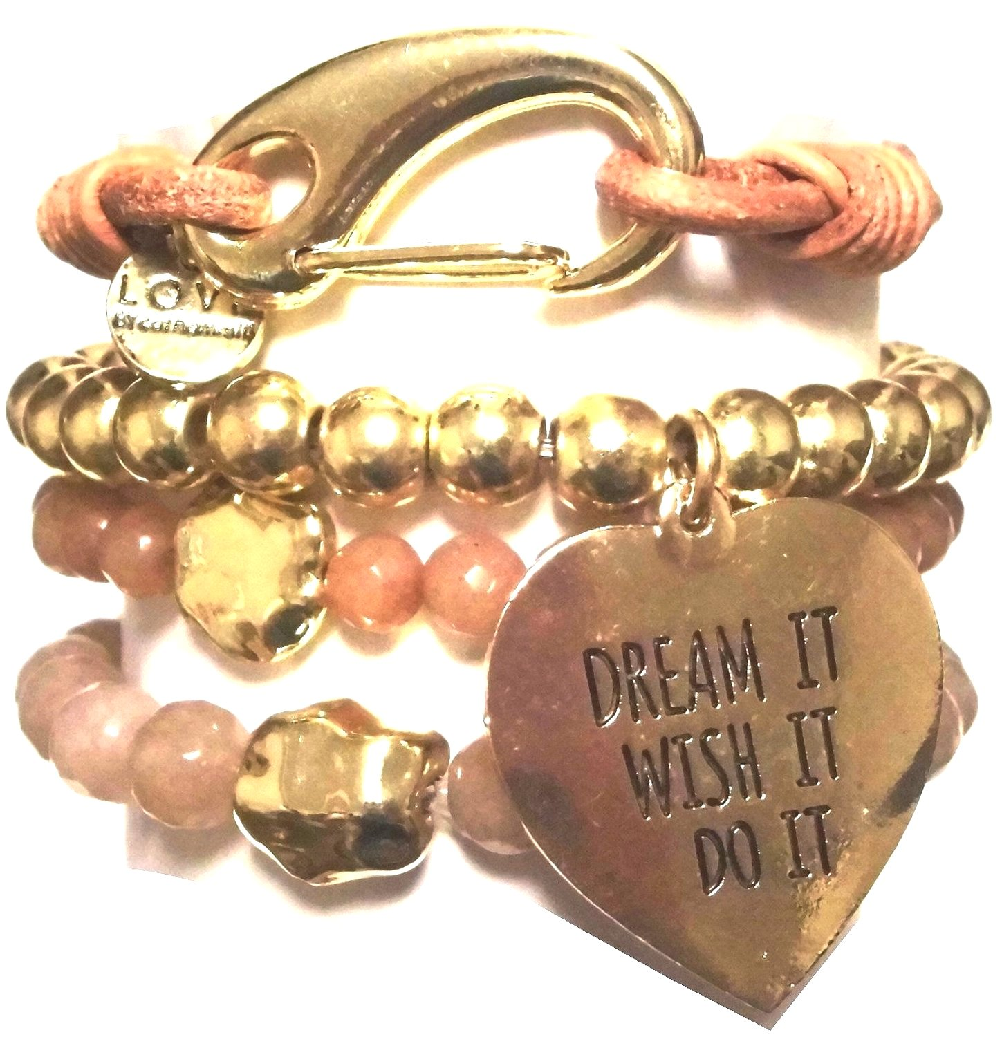 w58 gold dream tassel bracelet set21