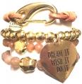 w58 gold dream tassel bracelet set21