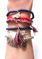 A315 Nautical Chain Tassel Set bracelet (6)