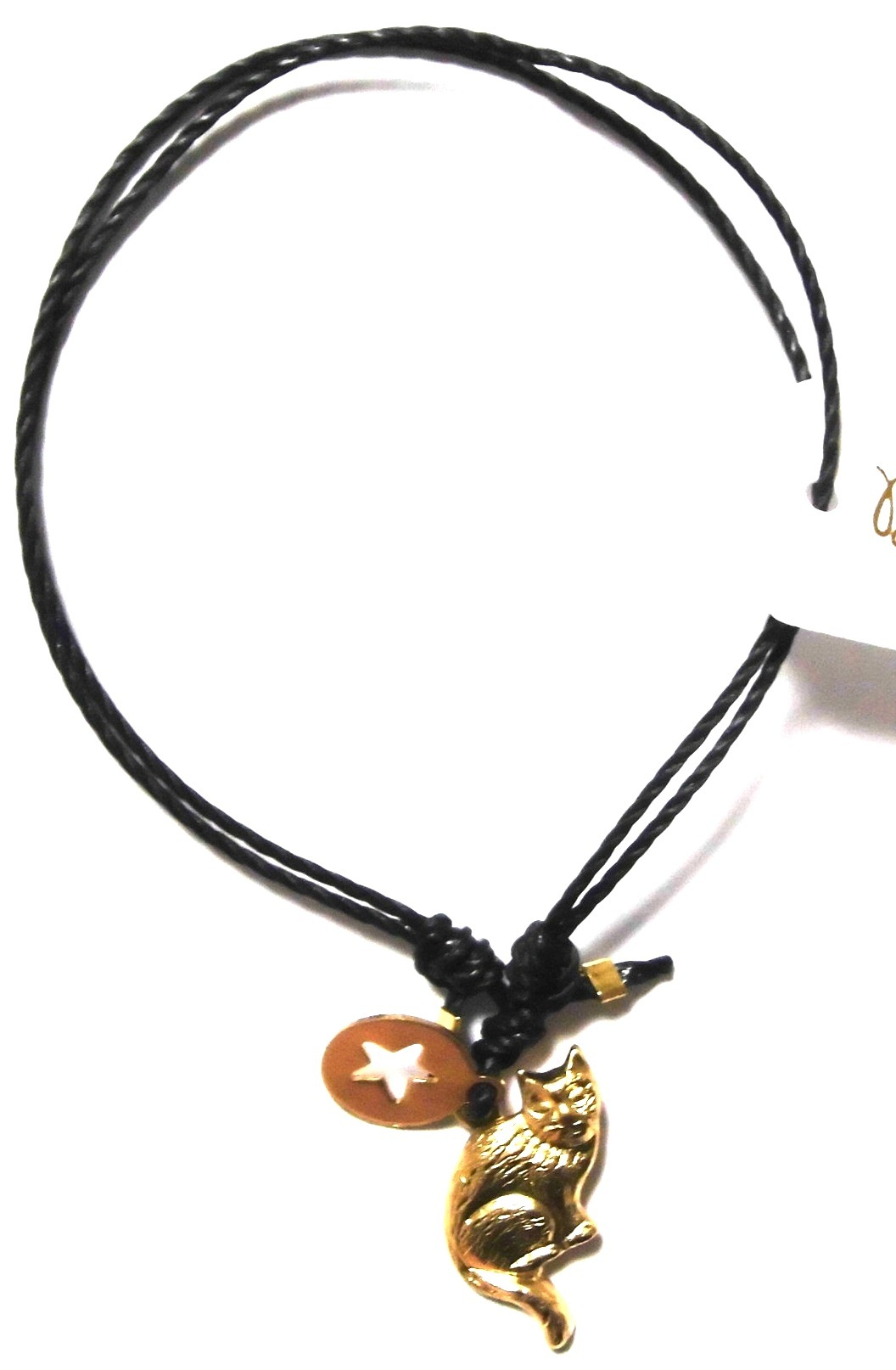 Cat and black star bracelet (2)